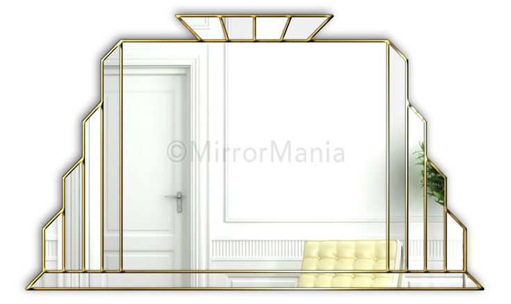 art deco bathroom mirrors 225 best rectangle mirrors images on mirror 15436