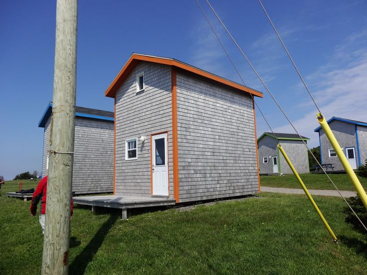 tiny houses-Magdalen Islands in Québec