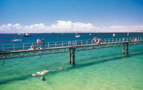 The Wallaroo Jetty. South Australia