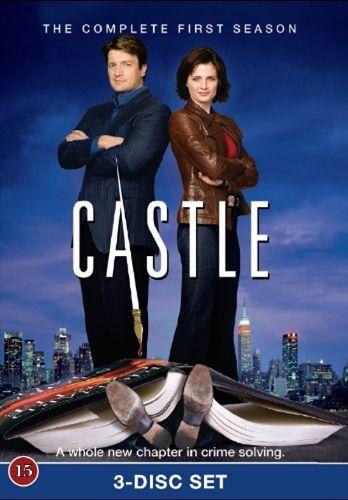 Castle - Kausi 1 (3 disc) (DVD) 9,95 e