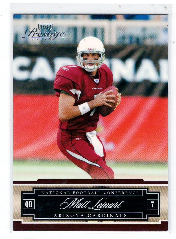 Football Trading Cards - 2007 Playoff Prestige Matt Leinart