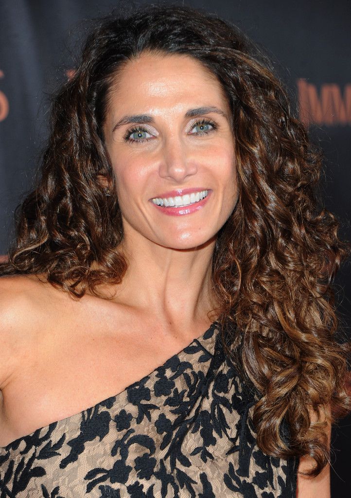 "Melina Kanakaredes - Premiere Of Relativity Media's ""Immortals"" Presented In RealD 3D - Red Carpet"