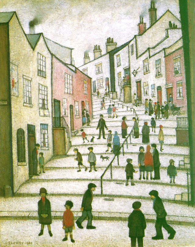 Lowry - A Street in Stockport