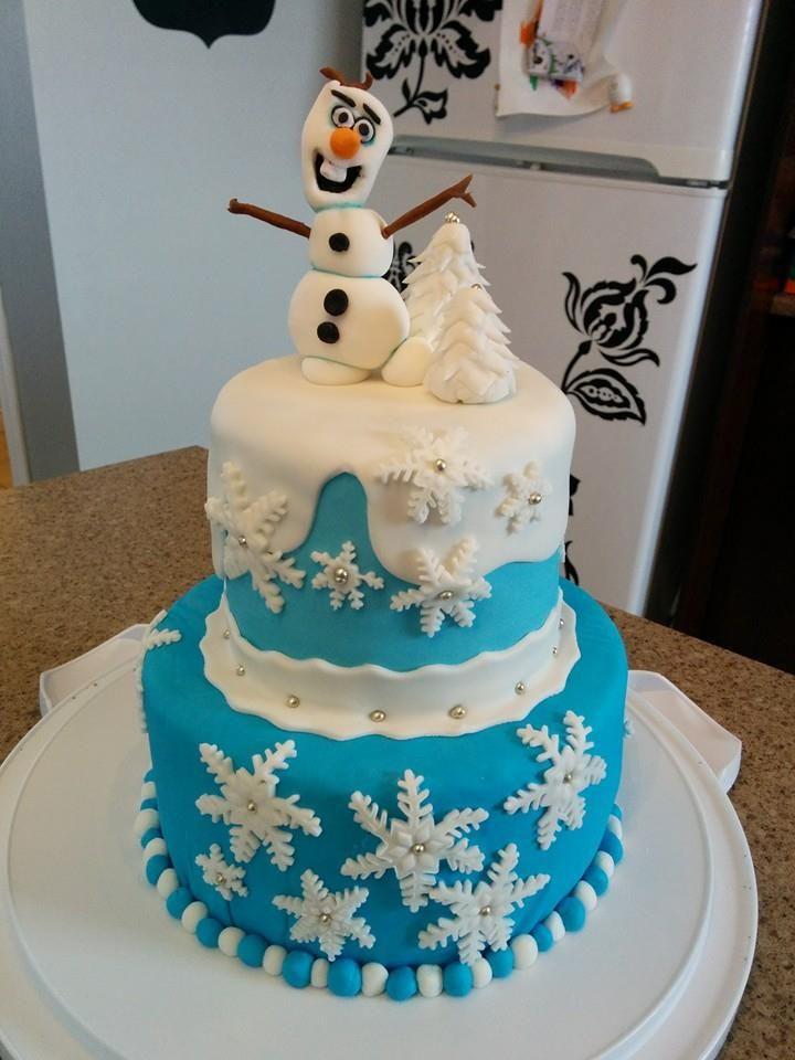 Olaf en gateau