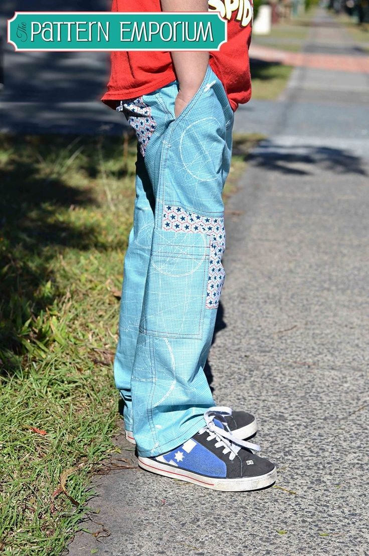Boys Cargo Pants PDF Pattern