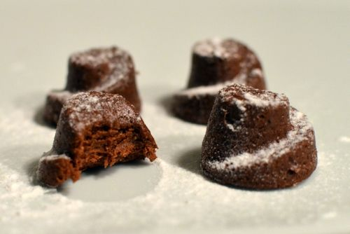 Brownie-proteinbiter (Bakekona)