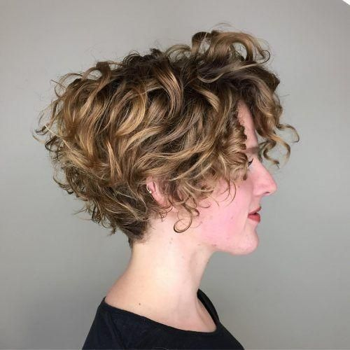 Stacked Pixie | A stacked look uses layers and lengths to create more volume, which is ideal for fine hair. #thin #hair #ideas #curlyhair #southernliving