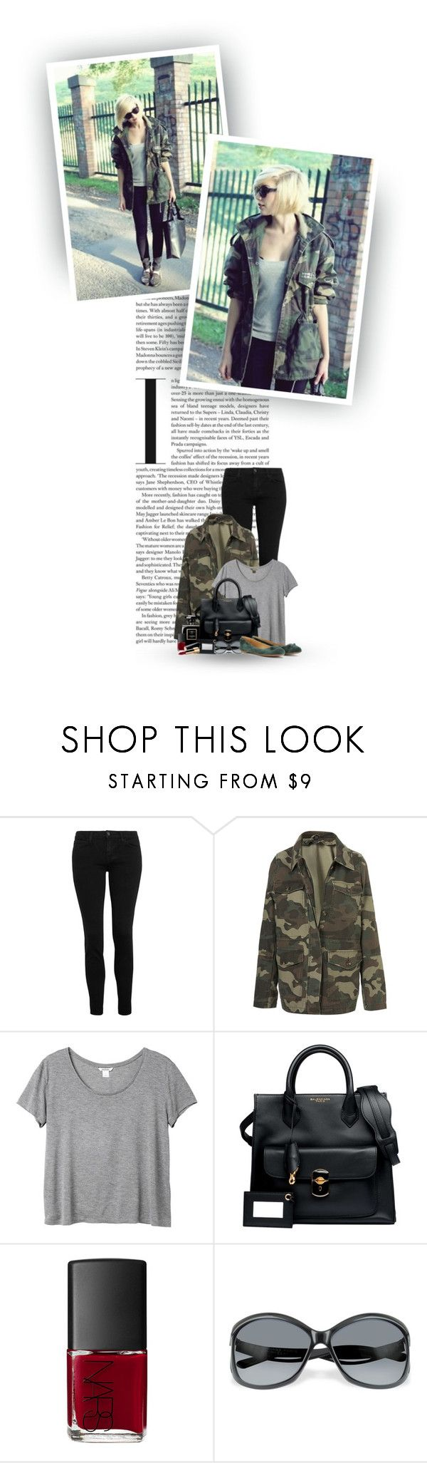 """""""Never Let Your Fear Decide Your Fate..."""" by hollowpoint-smile ❤ liked on Polyvore featuring Christopher Kane, Topshop, Monki, Chanel, Balenciaga, NARS Cosmetics, skinny jeans, camo, sunglasses and chanel"""
