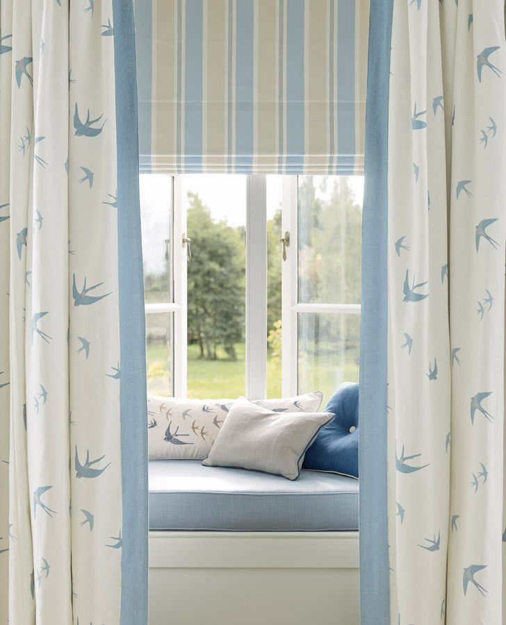 19 best casual country collection images on pinterest for Window seat curtains