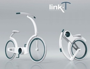Link-T Cruise Bike, future, concept, futuristic, Elena Streckyte, vehicle, bicycle by FuturisticNews.com