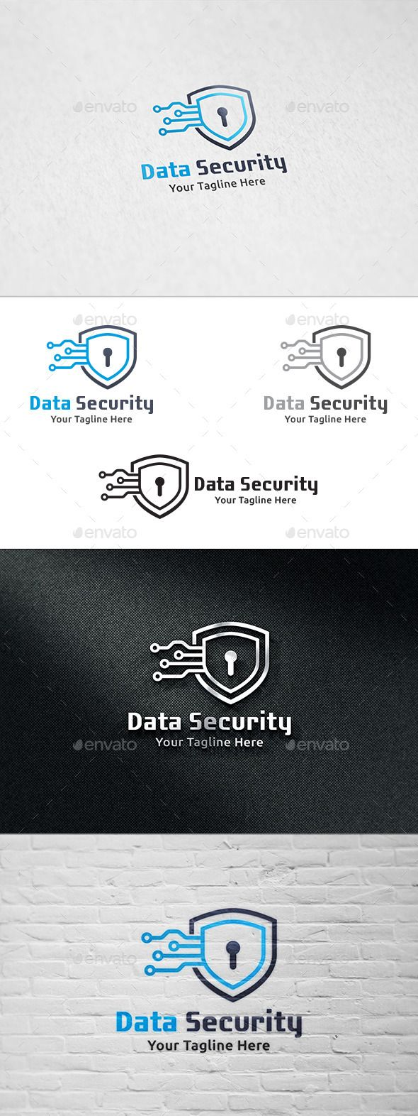 Data Security - Logo Template