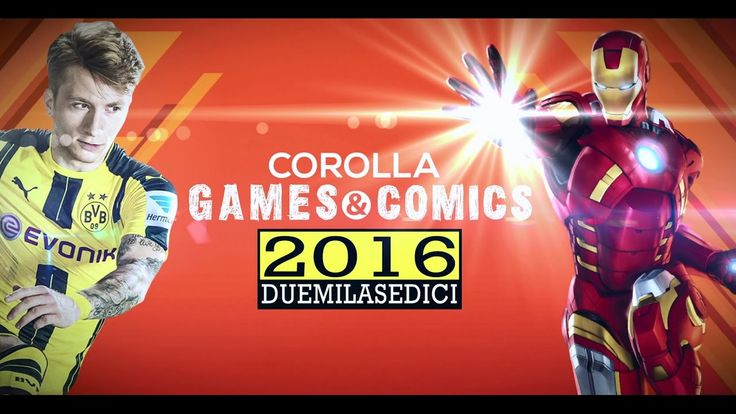 Corolla Games & Comics 2016 - VLog
