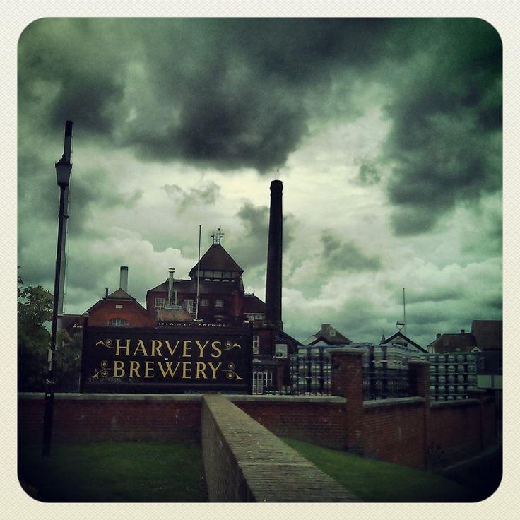Harveys Brewery, Lewes. East Sussex, United Kingdom, BN7.