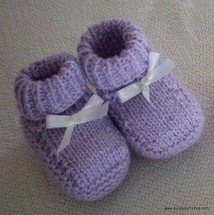 Sapatinhos-e-Meias-de-Tricô-para-Bebê-3