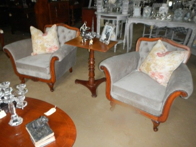 19th Century louis style chairs set of 2 R4995 each