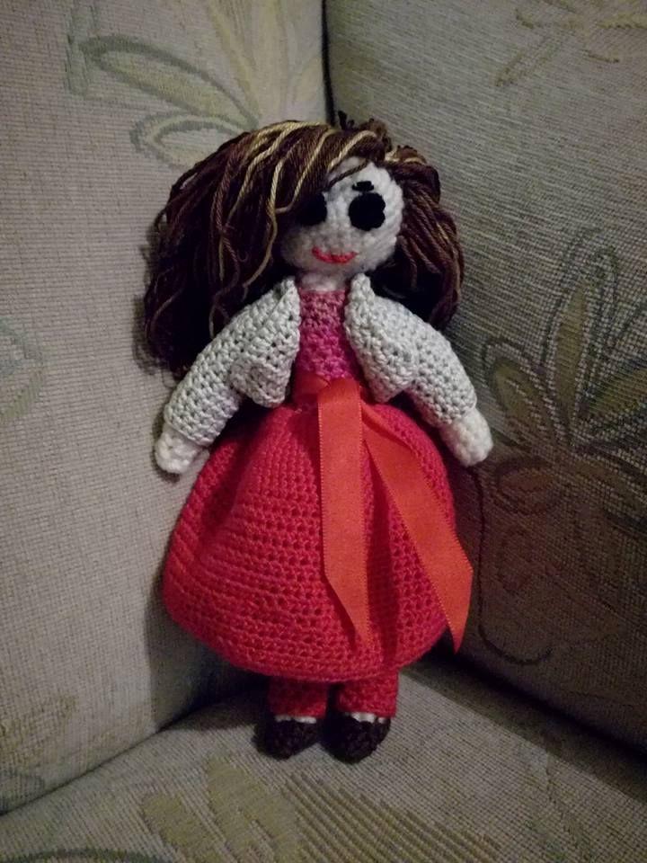 Doll crochet handmade by Inka