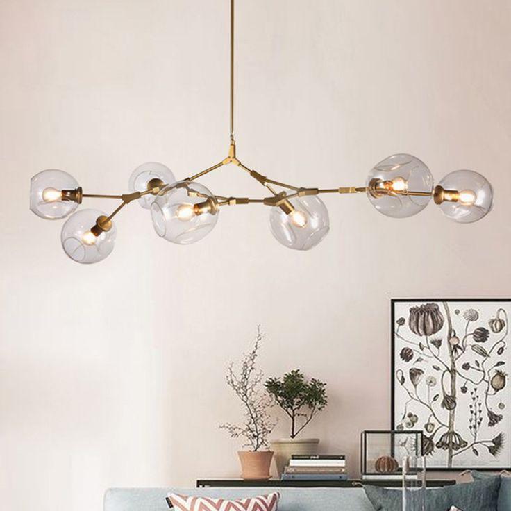 Aliexpress Com Buy Lindsey Adelman Globe Branching Bubble Glass Pendent Light Chandelier