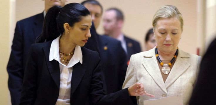 Hillary's Multiple Private Emails With Her Muslim Assistant Huma Abedin Are Being Investigated For Muslim Brotherhood Connections-about effing time
