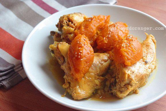 Tajine de poulet à la confiture de citrouille – Ma fleur d'oranger