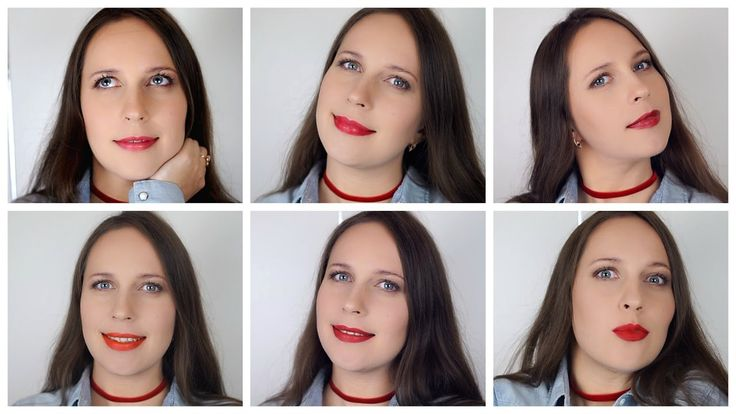 TOP 6 | Красные помады MAC | Red MAC Lipstick Swatches