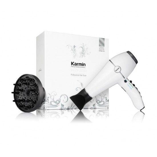 Reseña del secador de pelo iónico ultra ligero y profesional de Karmin - El Club de las Diosas