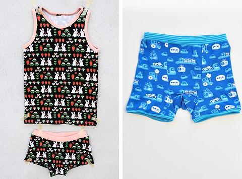 Van Katoen ondergoed patroon voor jongens en meisjes