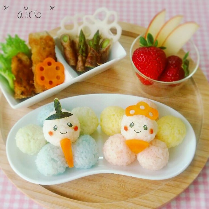 Doll festival lunch plate