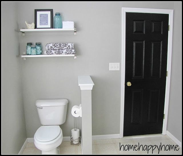 Best Bathroom Makeover Paint Color Graceful Gray By Behr 640 x 480