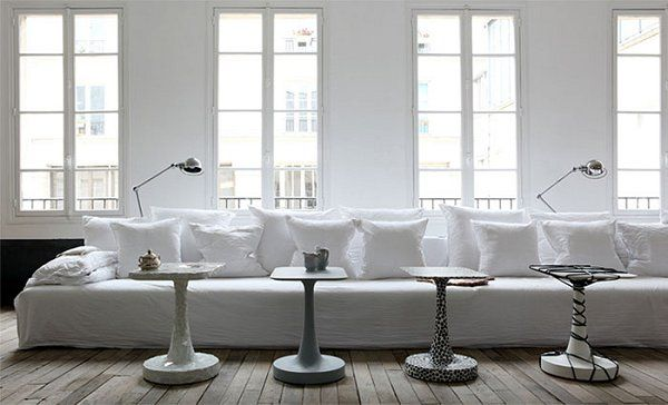 Simple   serene   Paris part 2   More of the Parisian loft of Paola Navone