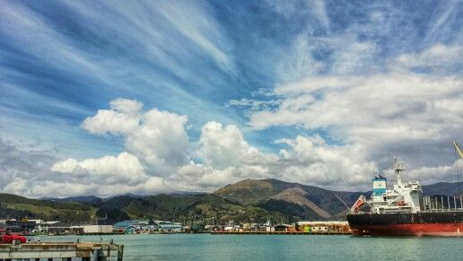 my photography,view of port nelson in new zealand