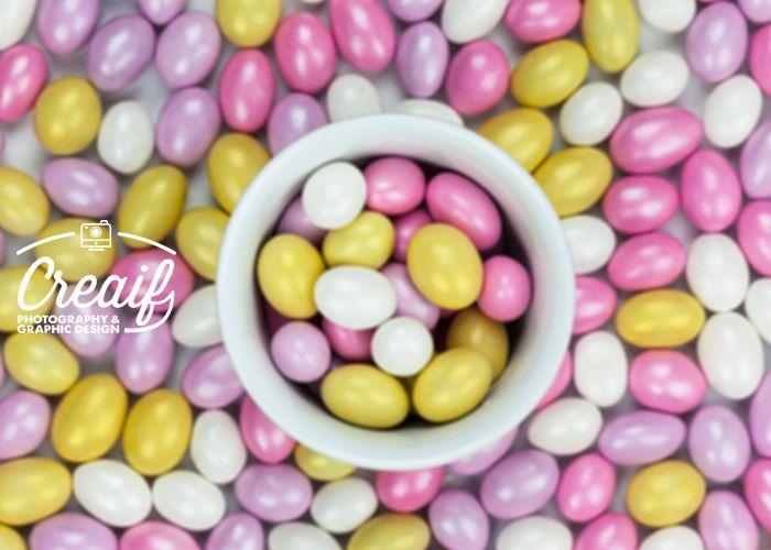 Rengarenk şekerler - Colorful candies www.creaif.com
