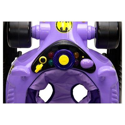 KidsEmbrace Baby Batgirl Walker - Purple