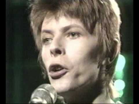 David Bowie performing 'Five Years' from the album 'The Rise and Fall of Ziggy Stardust and the Spiders from Mars' live on BBC's Old Grey Whistle Test from 1972.