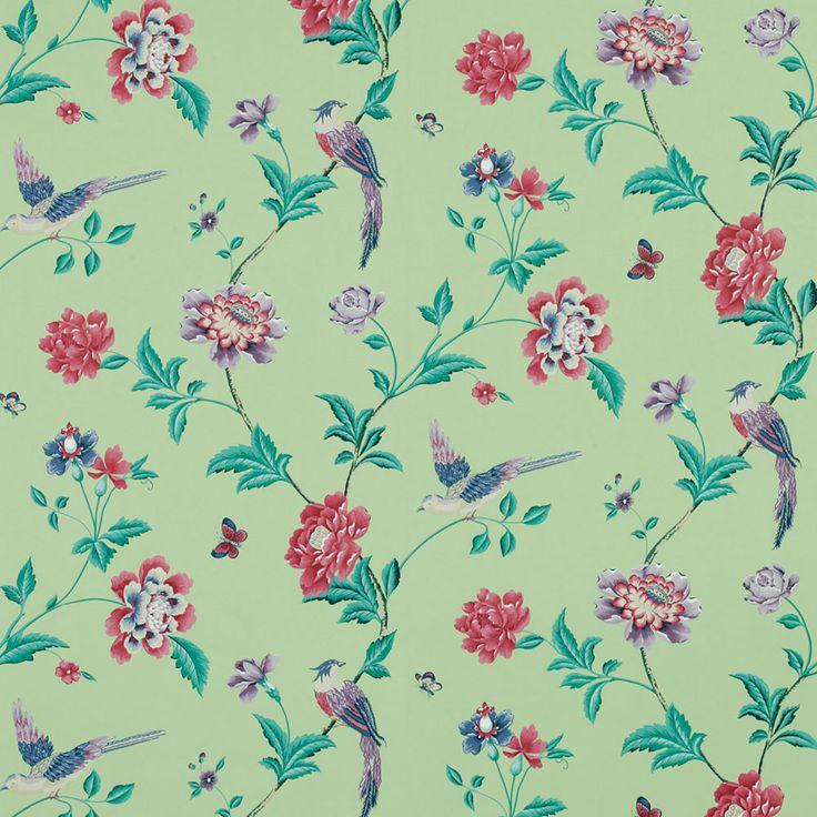Elveden Celadon Wallpaper £24