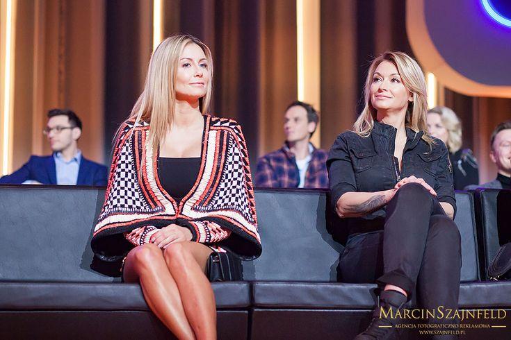 Małgorzata Rozenek - Majdan i Martyna Wojciechowska podczas WIOSENNEJ RAMÓWKI TVN 2017 Więcej zdjęć na http://szajnfeld.pl/wiosenna-ramowka-tvn-2017/