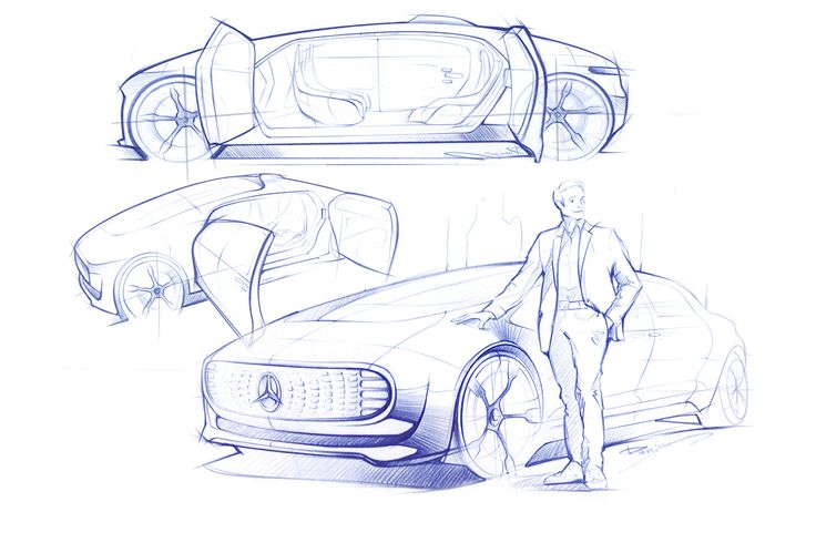 Car illustrations on Behance