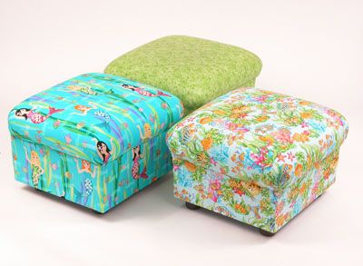 Kids Chair And Ottoman