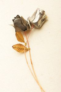 Creative Company | Easy Pewter Projects: Roses