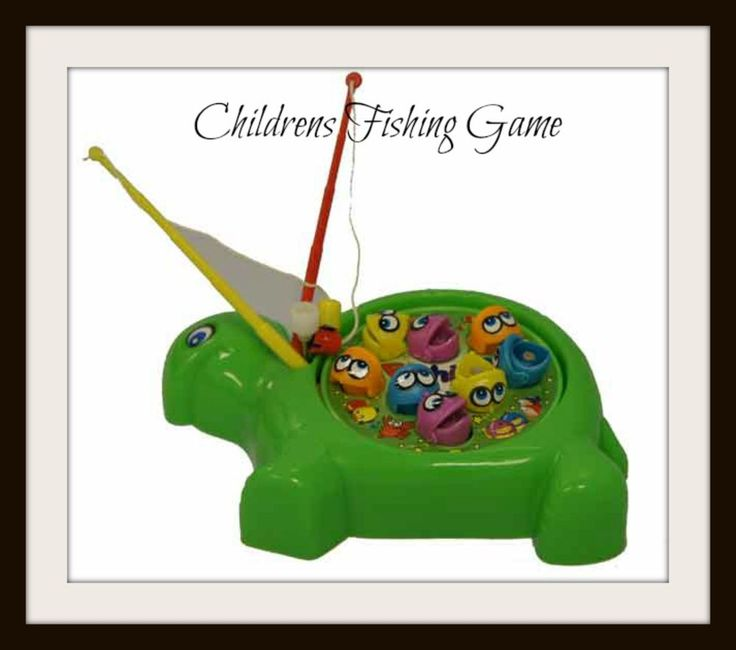 Fishing Game - Classic Kids Fishing Game - Toys Gift Birthday Children NEW
