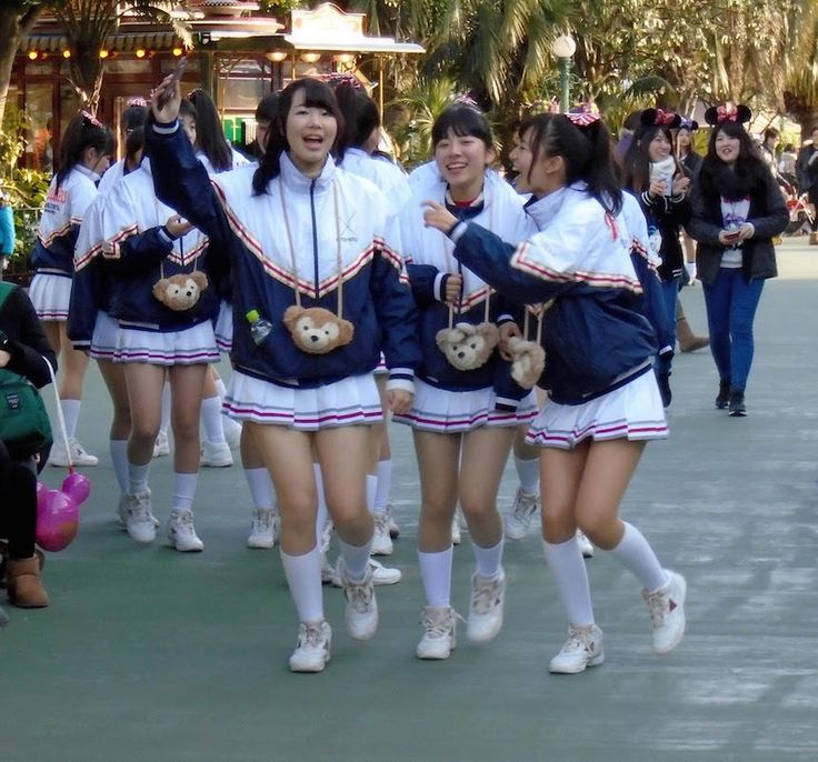 Japan through the eyes of a fashionista. Here are five Japanese fashion appreciation moments. Click for more. Tokyo Disneyland.