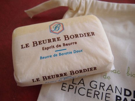 Le Beurre Bordier[ボルディエのバター](海藻入りバター)