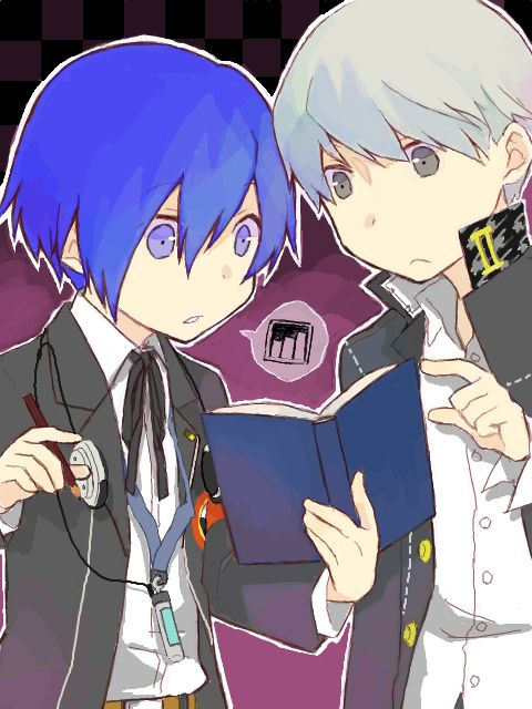Pfffft it really made me jump when I first heard Minato's Persona Q voice I actually sat up and went 'wait what who said that'