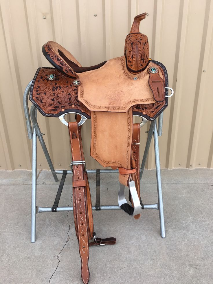 CSB 553 Corriente New Style Barrel Saddle