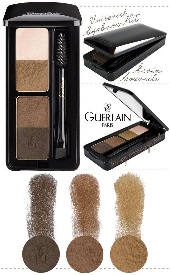 MORE: www.leczyrzeczy.pl/   Guerlain, makeup, eyebrow kit, universel 00, eyebrow palette, cienie do brwi, makijaż, high-end makeup,