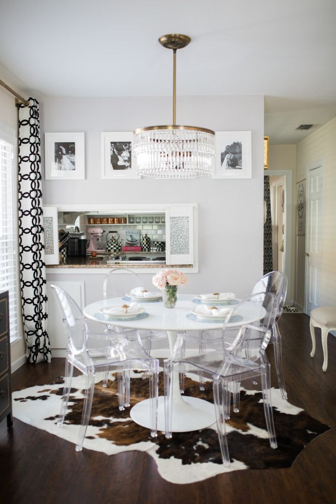 Chic Eclectic Dining Area HomeDecor