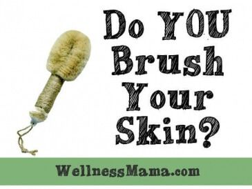 Dry Brushing for Skin 365x274 Are You Brushing Your Skin?