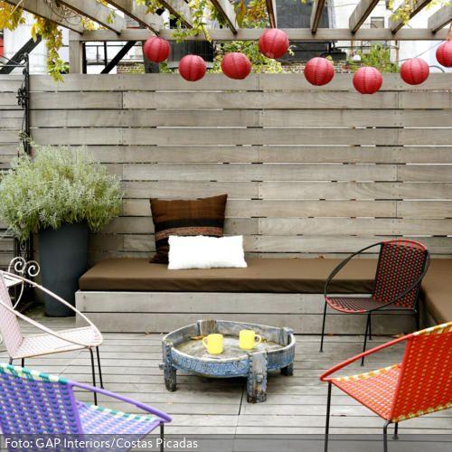23 besten sichtschutz stellw nde bilder auf pinterest landschaftsbau sichtschutz und verandas. Black Bedroom Furniture Sets. Home Design Ideas