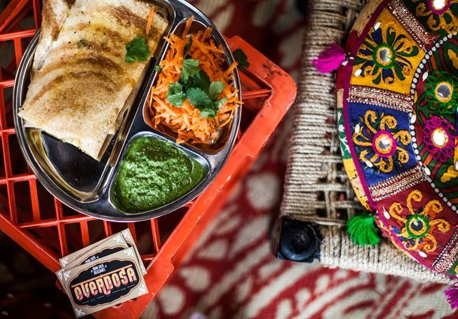 Overdosa - Indian Street Food in Rose Street, Fitzroy, Melbourne. Gotta go for some Masala Dosa