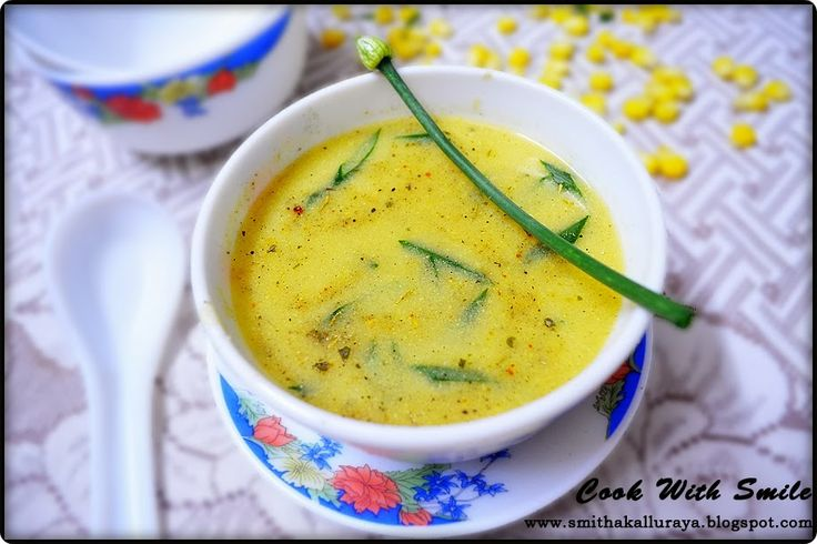 SWEET CORN SOUP,CREAM OF CORN SOUP