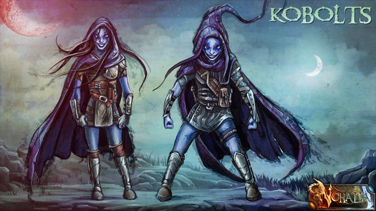 #nohalia #fireclaw #fantasy #dark #darkfantasy #rpg #roleplaygame #painting #digitalpainting #art #fantasyraces #races #kobolts